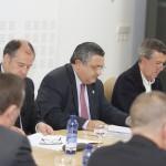 Fotografías das reunións do Consello Social
