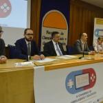 O presidente do Consello Social da Universidade de Vigo, Ernesto Pedrosa, participou na inauguración do IV CIVE
